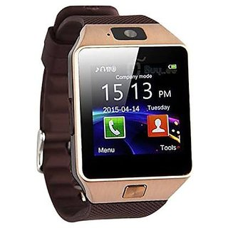 MacBerry DZ09 Bluetooth Smartwatch With Sim Card, Camera  Memory Slot Support for Andorid/iOS Devices (Color may vary)