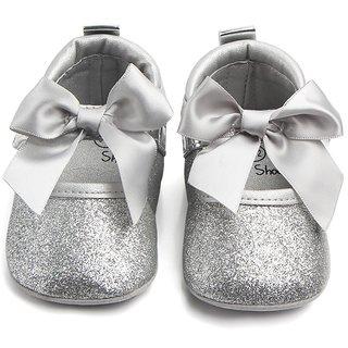 Seajol Girls Velcro Casual Boots Silver (Insole 11)