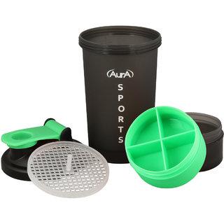 AURA Sport Shaker Bittle 600ML (Lime Green)