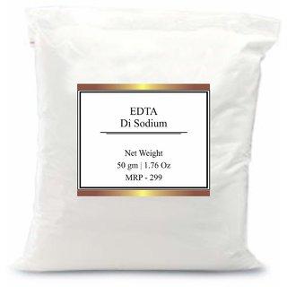 EDTA DiSodium Preservative  Stabilizer for Cosmetics  Personal Care 50 gms