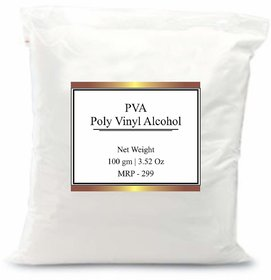 PVA Poly Vinyl Alcohal Binder Film Former in Cosmetics.Increases thickness of OiI Portion in lotion or cream, 50 gm