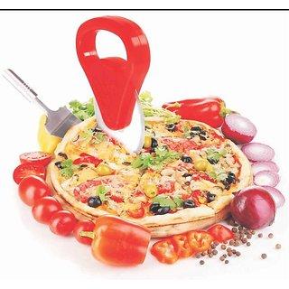 BANQLYN Plastic Pizza Cutter - Red 2 pcs