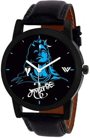 idivas 122Mahadev  Shiv Blue Watch For Men