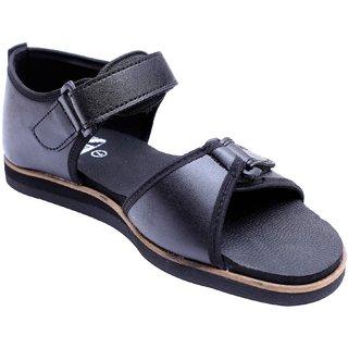 Podolite Women's DIA FOOT Black Sandals