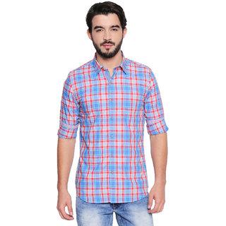 Jeaneration Multicoloured Cotton Full Sleeved Shirt for Men