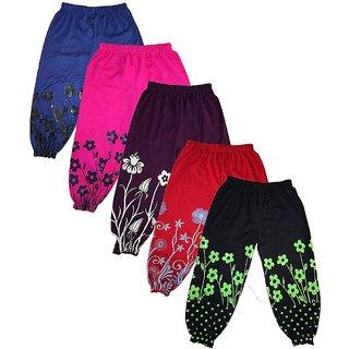 Om Shree Girls Regular Fit Stretchable Harem Pant (Pack of 3)