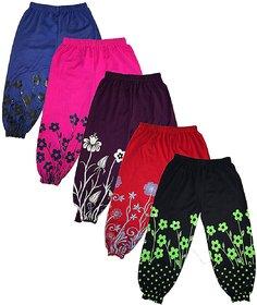 Om Shree Girls Harem Pant Pack of 5
