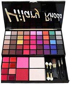 Hilary Rhoda HR-690 Professional Makeup Kit With 45 Matte Eyeshadow + 8 Lip Gloss + 2 Blush + 2 Face Powder + 5 Makeup Brush,