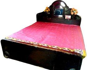 Deerosita Plastic Baby Bed Protecting Mat Mat Premium Baby/Adult Mattress Protector High Grade Plastic Sheet for Double