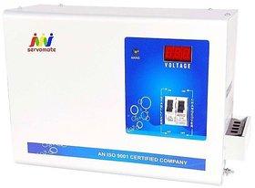 Servomate 4 KVA Automatic Stabilizer For upto 1.5 Ton AC 100% Copper (130v-280v)