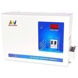 Servomate 5 KVA Automatic Stabilizer For 2 Ton AC 100% Copper  150v 280v