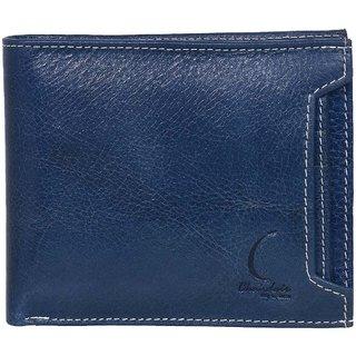Chandair Pure Leather Turkishian Blue Mens Wallet (KL-CH-66)