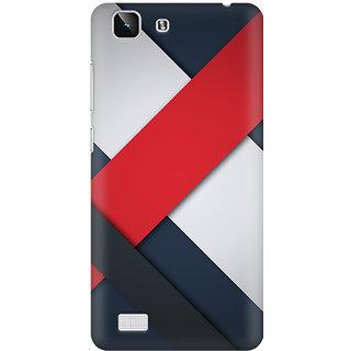 Back Cover for Vivo X5  (Multicolor)