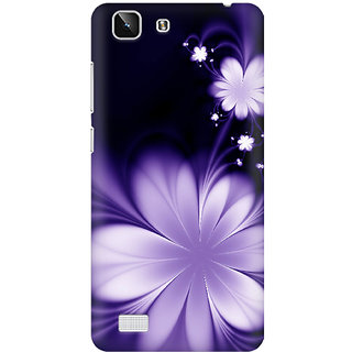 Back Cover for Vivo X5  (Multicolor)