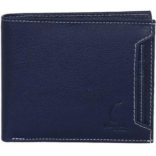 Chandair Pure Leather Dark Navy Blue Mens Wallet (KL-CH-52)