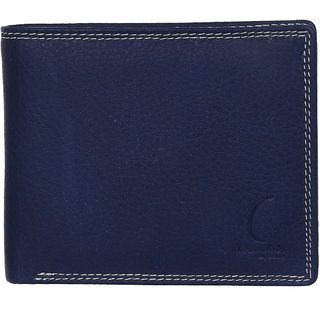 Chandair Pure Leather Dark Royale Blue Mens Wallet (KL-CH-55)