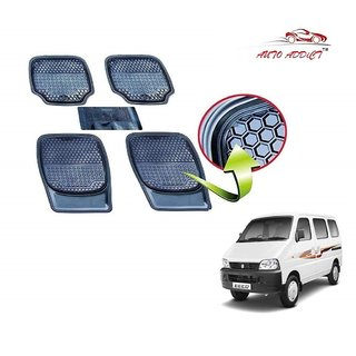 Auto Addict Car 3G Honey Rubber PVC Heavy Mats Black Color 5Pcs for Maruti Suzuki Zen Estilo