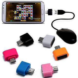 5 Pcs OTG USB Adapter For Smartphones, Tablets