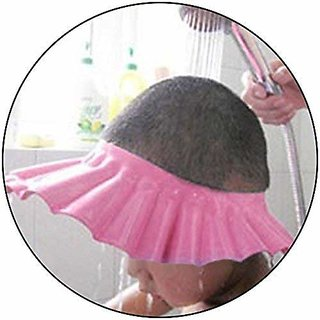 Pack of 2 - No Tears Fit-all Adjustable Kids Shampoo Hat