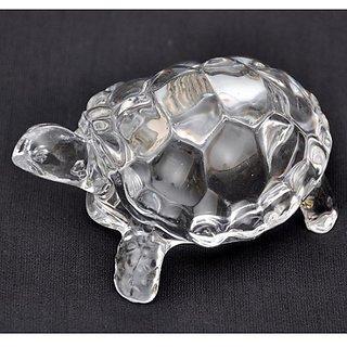 Vanyas Crystal Tortoise For Long Life Wealth Health Success and Good Luck Vastu Feng Shui