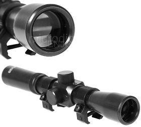 Rifle Telescope Hunting Scope Optical Riflescope 4x20 with Cross Hair for Gun