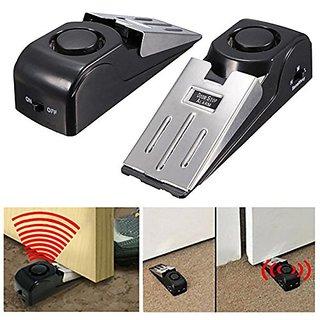 BANQLYN 1 pcs Wireless Home Door Stop Alarm Vibration Trigger Security System