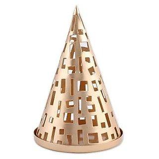 Master Piece Crafts Handmade Glowing Cone Tea Light Holder
