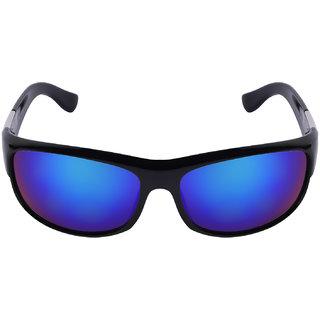 0bbb34dd3930 Buy Criba Stylish Blue Sports Mercury Unisex UV400 Sunglass - 2053 blue me  Online - Get 80% Off