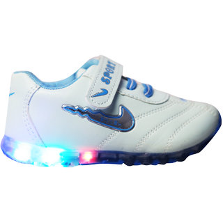 LNG Lifesty Led Lights Shoes Boy Girls (LNG-73LightBlue)