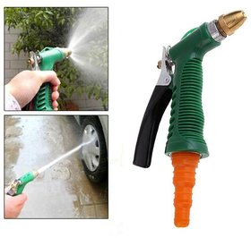 Lucky Traders Plastic Trigger And Brass Nozzle Car Wash Water Gun Spray