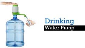 Satya Hand Press Manual water pump dispenser For Bottel Drinking Water (Colors may Vary)