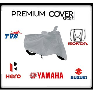 Universal TVS Jupiter Scooty Body Cover With Mirror Pockets - Custom Fit
