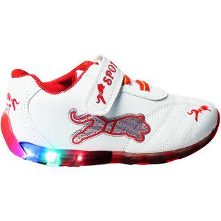 LNG Lifesty Led Lights Shoes Boy Girls (LNG-54Red)