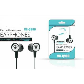 In the Ear Earphones Headphone (Black VR-Q900 )