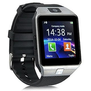963bf3e1fe6 Buy Vivo V9 Compatible DZ09 Bluetooth Smart Watch Phone - Sim Card Memory  Slot By BUYSHOP Online - Get 60% Off