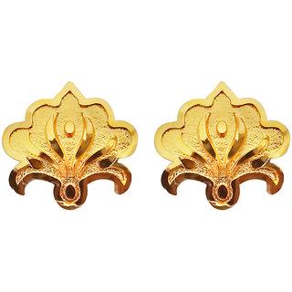 7cc26cf94 Buy JewelMaze Gold Plated Stud Earrings-1311782 Online - Get 80% Off