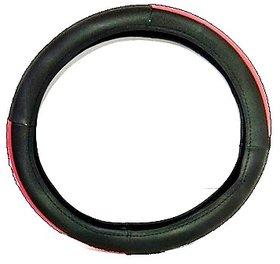 Car Steering Cover TaTa Tiago (Red  Black)