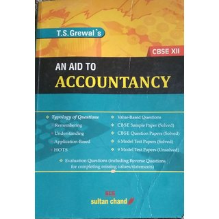 AN AIDS TO ACCOUNTANCY {BY T.S.GREWAL'S}