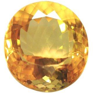 Original Sunhela Stone 11 Ratti (10 carats) Rashi Ratna  Natural and Certified by GEMOLOGICAL LABORATORY OF INDIA (GLI) Citrine Precious Gemstone Unheated and Untreated Top Quality Gems for Astrological Purpose