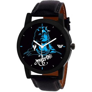 idivas 8Mahadev  Shiv Blue Watch For Men
