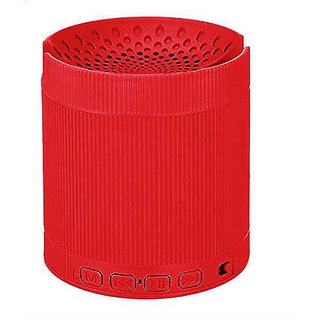 Bluetooth Speaker ( 6 IN 1 ) with Mobile Stand with mic - EZ396-RED