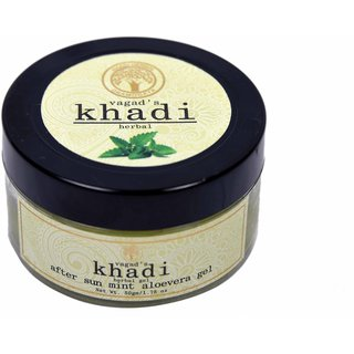 Vagad's After Sun Mint Aloevera Khadi Gel