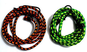 Stretchable Rope for Bike, Multipurpose Elastic Rope,2 pieces Set, Assorted Color
