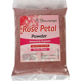 Yauvanya Rose Petal Powder - 100 gms