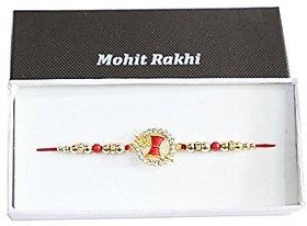 Religious Rakhi for Beloved Brother(Men/Boy) with Chandan RoliSet410