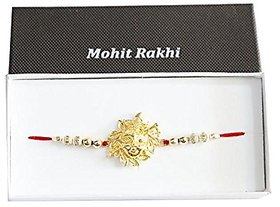 Religious Rakhi for Beloved Brother(Men/Boy) with Chandan RoliSet403