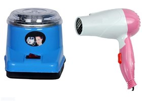 Electric oil Wax Heater  and 1000w hair dryer