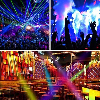 Buy SILVOSWAN DJ PAR Light 36 LED Bulb RGB / Multicolor with Remote  Controller for DJ Stage, Party Online - Get 47% Off