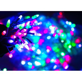 Led Decoration Light Rocket Shape Led Light 50 Meter (Multicolor)
