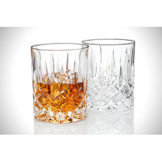 828d7b98947 Buy Being Creative Multipurpose Whisky Party Designer Clear Set Of 6 ...